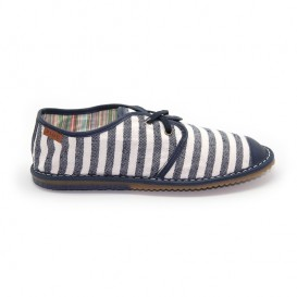 BARCELONA 140 WIDE STRIPE NAVY